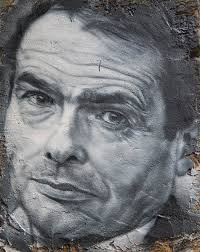 Painting of Bourdieu