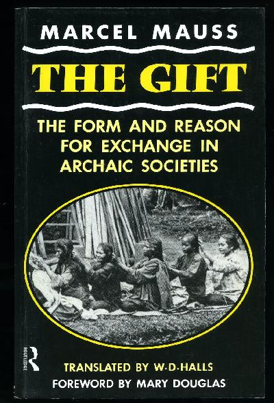 Cover of Mauss, The Gift